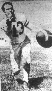 ...to quarterback Bob Franklin, Metropolitan League player of the year.