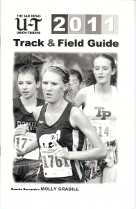 Rancho Bernardo's Molly Grabill was featured in 2011.