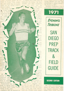 Chula Vista's Tim Danielson was on cover in 1971.