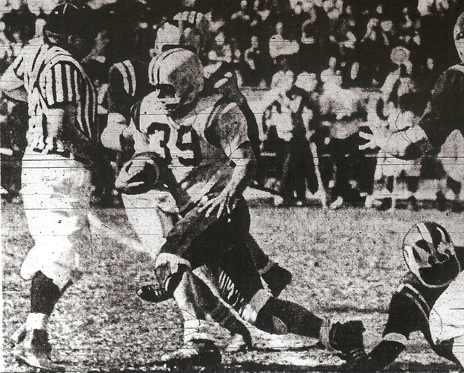 "Colts' McCorquodale was more easily known as ""Corky""."
