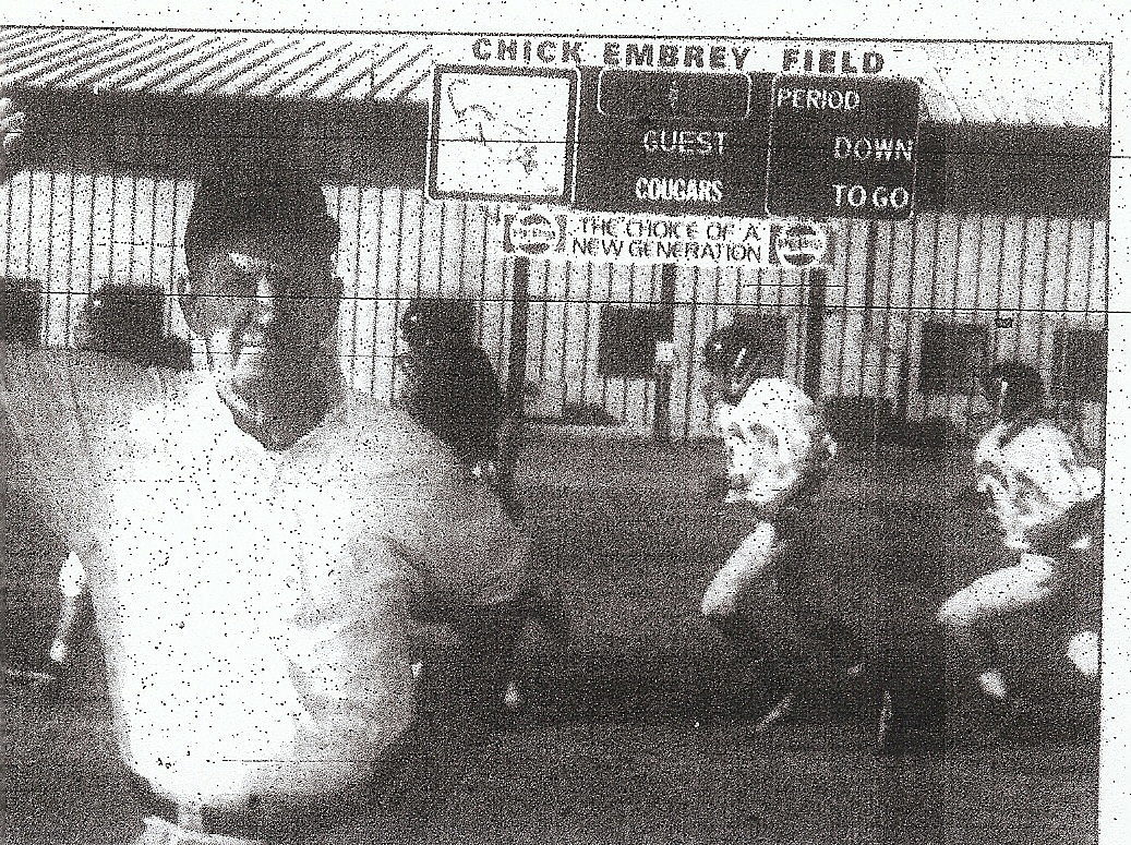Embrey starred as player and coach at Escondido.