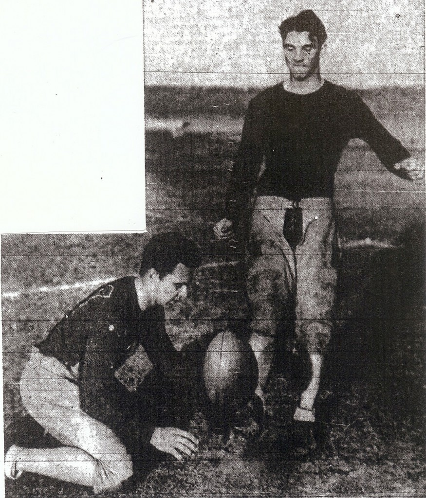 Schindler and tackle-captain-kicker R.C. Moore were Cavemen's representatives on all-Southern California teams.
