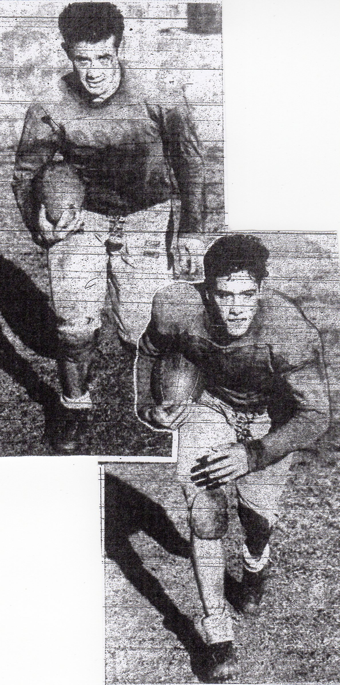 Lyle finnerty (top) was the younger brother of Leon (bottom).
