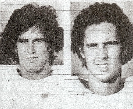 Don Slater (left) made big catch and Chris Daily was defensive standout for Barons.