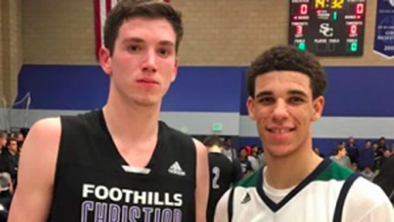 T.J. Leaf and Chino Hills' Lonzo Ball will play together at UCLA next season.