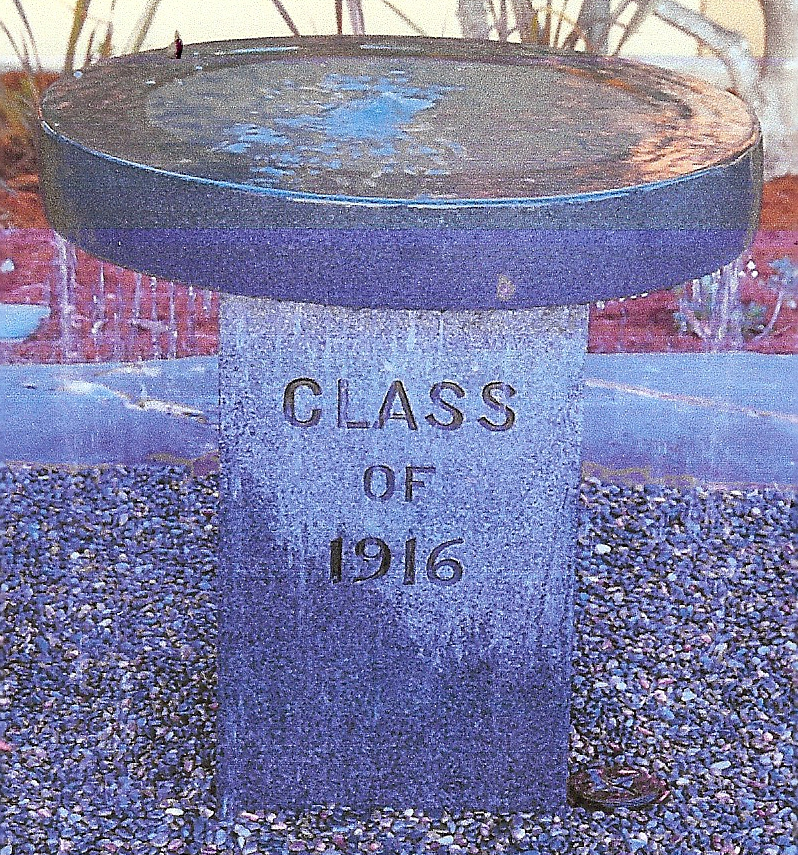 Grossmont's fountain has long history.
